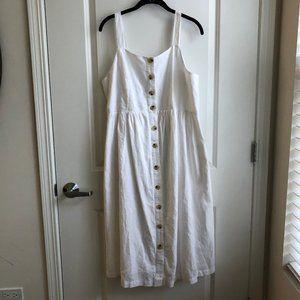 NWOT Button Up Tea Dress